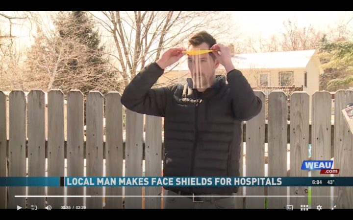 WEAU features local shield makers
